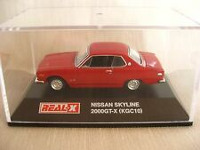 1:72 REAL-X SKYLINE 2000??-X KGC10 Red HISTORIES Collection 4th