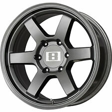 Level 8 MK 6 16x8 6x139.7 (6x5.5) +0mm Gunmetal Wheels Rims 16138