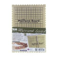 "Beadsmith Mini Macrame Board With Instructions 6""x9"" (G14)"