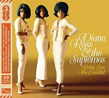 DIANA ROSS & THE SUPREMES 'BABY LOVE : THE ESSENTIAL' (Best Of) 3 CD SET (2016)