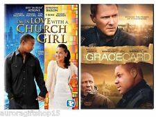 2DVD Pack-I'm In Love With A Church Girl & The Grace card NEW DVD