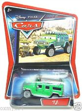 Disney Cars Supercharged Walmart T.J. TJ Hummer TUF GUE Error No Shield Card!