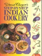Veena Chopra's Step by Step Indian Cooking-ExLibrary