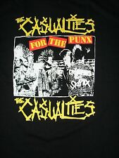 NEW VINTAGE OLD SCHOOL PUNK THE CASUALTIES SHIRT FREE SAME DAY SHIPPING MEDIUM