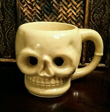 VINTAGE HAWAII KAI OMC JAPAN HOLLOW BOTTOM SKULL TIKI MUG WOW!!