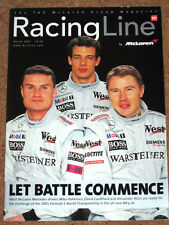 Official McLaren Magazine RACING LINE March 2001 - MP4/16 Launch, Watson on MP/4
