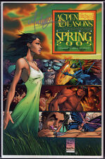 Aspen Seasons Spring Wizard World LA Michael Turner Variant signed signiert +COA