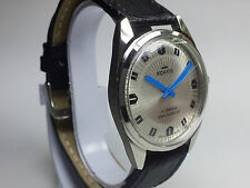 VINTAGE FORTIS 17 JEWELS HAND-WINDING SWISS MADE MOVEMENT MEN'S DIAL WRIST WATCH