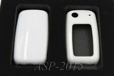 White Remote Flip Key Cover Case Skin Shell Cap Fob Protection Red FIT VW SKODA