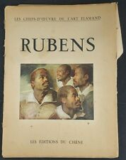 Rubens. Chefs D'Oeuvre De l'Art Flamand, Pub De Chene,Introduction - Jozef Muls