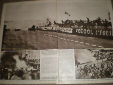 Photo article Motor racing disaster 80 killed at Le Mans 1955 ref Z