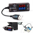 LCD Voltage Current Detector Mobile Phone Power Dual USB Charger Tester Meter