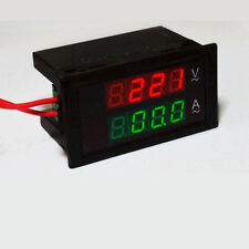 AC 300V 100A Dual Digital LED Amp Volt Meter Voltage Current +CT 110V 120V 220V