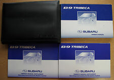 SUBARU B9 TRIBECA OWNERS MANUAL HANDBOOK WALLET NAVI 2005-2007 PACK 14227