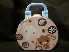 SUGARBUNNIES SANRIO Tin Mini Purse Metal Pink Sanrio Free US Shipping 2008 4.5""