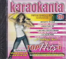 Mana Laura Pausini Shakira David Bisbal Inspector Top Hits 1 Karaoke New Sealed