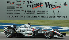 1/43 McLaren Mercedes West Decals MP4/20 Decals TB Decal TBD 218