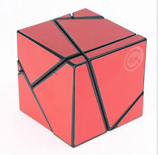 New Fangshi 2x2 Ghost Cube Black Magic cube  2x2x2 Ghost with Red set sticker