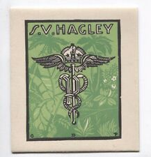 Ex Libris by Perrottet for Hagley