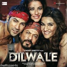 DILWALE [2015] - OFFICIAL BOLLYWOOD SOUNDTRACK CD [SHAH RUKH KHAN] - FREE POST