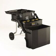 Tool Box Storage by STANLEY FatMax® 4-in-1 Mobile Work Utility Station on Wheels