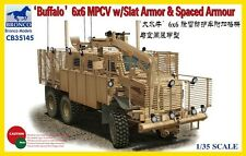 "Bronco 1/35 ""Buffalo"" 6x6 MPCV w/Slat Armor & Spaced Armor  #35145"
