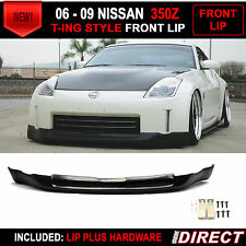 Fit For 2006-2008 Nissan 350Z Front Bumper Lip Ing-S Style Fairlady Z Z33