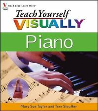 Teach Yourself VISUALLY Piano by Mary Sue Taylor, Tere Stouffer