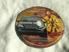 2000 02 2001 MERCEDES ML 320 430 500 NAVIGATION CD 6 OHIO VALLEY KY WV MD NY PA