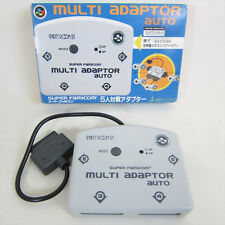 Super Famicom MULTI ADAPTOR AUTO Party Room 21 Boxed SNES Import JAPAN 1837