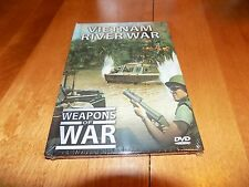 WEAPONS OF WAR VIETNAM RIVER WAR Riverine Combat Gun Patrol Boats Boat DVD NEW