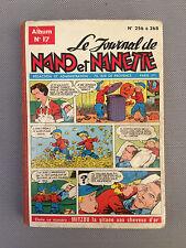 Ancienne BD Nano et Nanette collection vintage livre enfants 1962 french antique