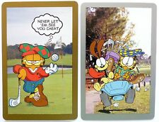 PAIR SWAP CARDS. GARFIELD & ODIE PLAY GOLF. JIM DAVIS CHARACTERS. CONGRESS USA