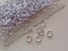 **SALE** 300 x Silver Plated Double Split Open Jump Rings 5mm Jewellery Findings
