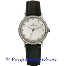 NEW Blancpain Villeret Ultra Slim $13,400.00 ladies Diamond 29mm watch.