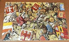 Lithuanians and Tartars clash with the Teutonic left wing, 1410  Large Postcard