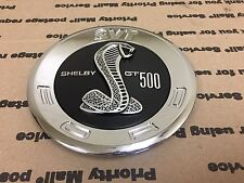 NEW FORD MUSTANG COBRA TRUNK LID LOGO EMBLEM BADGE SYMBOL SHELBY GT 500 BLACK