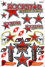 Metal Mulisha Rockstar Energy Sticker Motocross Racing Motorcycle Bike Decal #T2