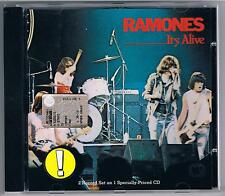 RAMONES IT'S ALIVE  CD COME NUOVO!!!