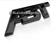1 - BRAND NEW ABT Rear Badge Emblem for Audi VW (GLOSS BLACK ABT)