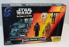 Star Wars POTF Power of the Force Classic Edition 4-Pack New Sealed 1995