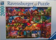 2000 PIECE JIGSAW PUZZLE WORLD OF BOOKS ! NEW
