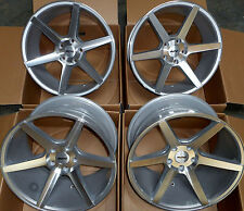 "19"" SILVER STAGGERED IFG3 ALLOY WHEELS 5X120 BMW E90 E91 E92 E93 F30 F10 F20 F21"