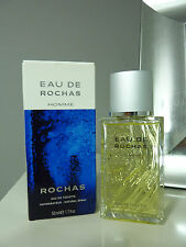 EAU de ROCHAS eau de toilette for men New in box  50ml Spray