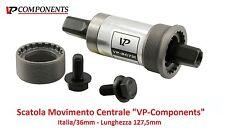 """0520 Scatola Movimento Centrale """"VP"""" 127,5mm-ITA per bici 26-28 Fixed Scatto Fis"""
