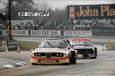9x6 Photograph, Fitzpatrick / Walkinshaw BMW 3.5 CSL  Silverstone 6hrs 1976
