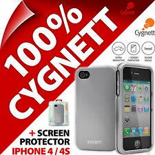 New Cygnett Metalicus Aluminium Case For Apple iPhone 4/4S Protective Hard Cover