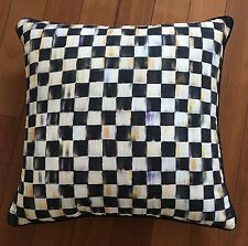 Mackenzie Childs Courtly Check Cushion 18x18""