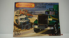 MATCHBOX LESNEY 1982/83 COLLECTOR'S CATALOG UNUSED STORE STOCK NM/M