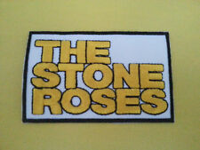 PUNK ROCK HEAVY METAL MUSIC SEW ON / IRON ON PATCH:- THE STONE ROSES